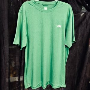 The North Face Sz L Men's T-Shirt Green